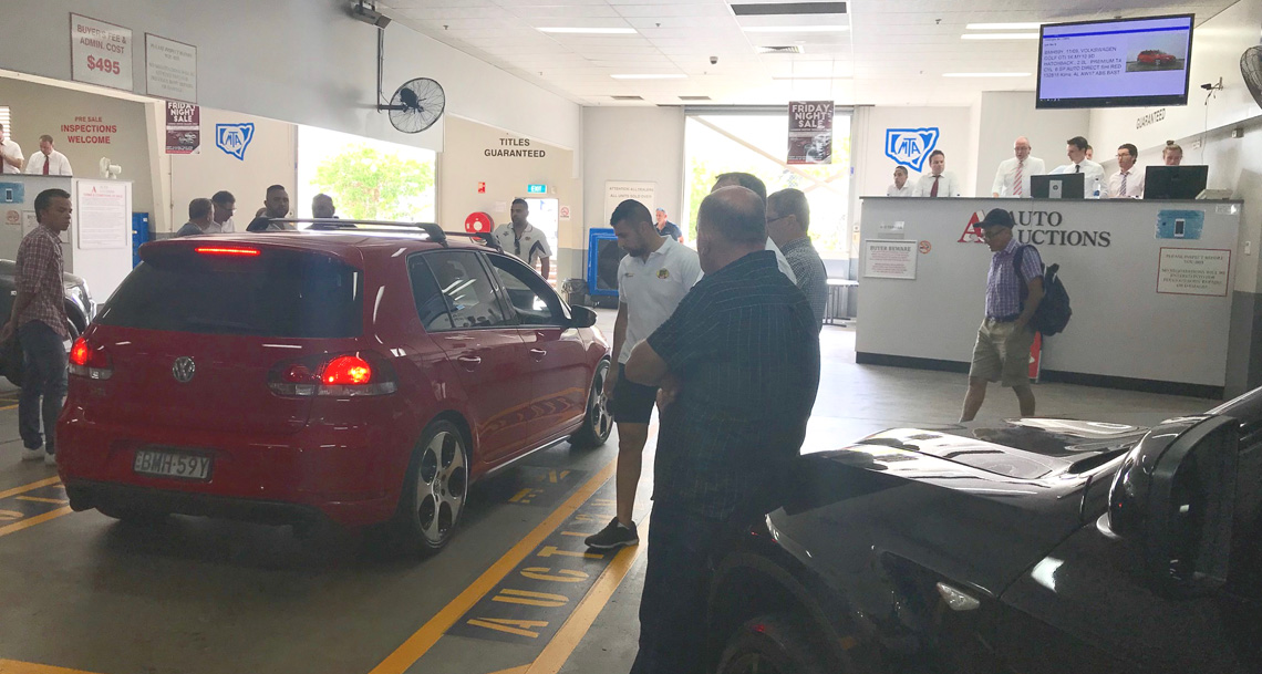 Buying at Auto Auctions Sydney
