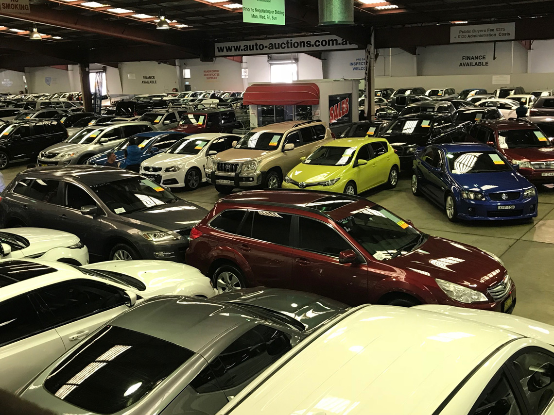 Selling you car Auto Auctions Sydney