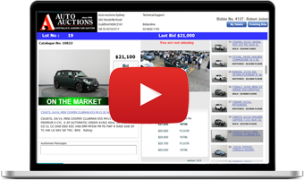 Auto Auction Live Simulcast